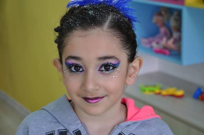 Детский макияж для выступления фото
